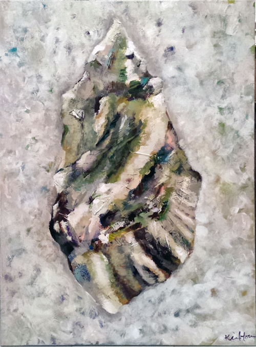 oyster painting drakes bay